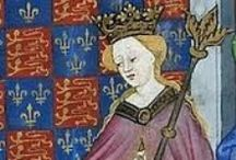Queens: Lancaster (1399-1461, 1470-71) / A board dedicated to the Lancastrian Queens of England. / by Ashlie Jensen