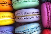 MACA-RINGUE-MALLOWS / Macarons, meringues and marshmallows... Mmmmm