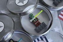 DIY Star Wars Party Ideen / Dekoration, Spiele und Ideen für eine coole Star Wars Party. Kostenlose Printables und Bastelanleitungen zum Star Wars Kindergeburtstag