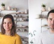 Madriguera Workshop / Quién: Madriguera Workshop, formado por Luis Llamas y Lydia de la Piñera. ¿Por qué?: Porque se trata de un taller que hace cerámica contemporánea que realiza un proceso completamente artesanal. Algunas piezas están hechas a torno, otras son piezas de gres y loza reproducidas por moldes de yeso.