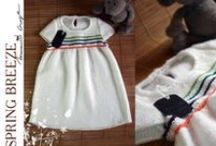 Kids / My work, knitted clothes for kids