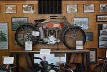 Our Classic Motorcycles / Take a look at a few of the hundreds of classic bikes we have at our museum. Follow the link for more information, and stop by our museum on Tuesday, Thursday, or Saturday to see them all! www.mungenastclassicmuseum.com