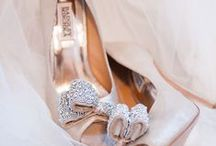 Bridal - Shoes / Don't let the dress have all the fun! / by Ashley Lane