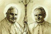 SAINTS -- 2 Pope Saints / #2PopeSaints