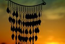 Wind chimes / I love the sound of the breeze in a Wind Chime #Windchime #Outdoors