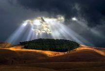 Show me the light / Let the light shine through #Sunshine #Lightrays #Nature
