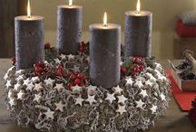 Advent candles / Decorations