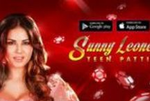 Teen Patti with Sunny Leone / Sunny Leone helped create this teen patti (flash, flush, Indian three 3 card poker) game herself! She shared her favorite personal photos and videos to help design this game in signature Sunny style.  Come play with her or friends from around the world and you could win a chance to meet Sunny Leone in person!  http://www.sl3p.in  #TPwithSunny #SunnyLeone #Teenpatti
