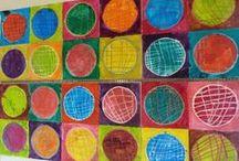 Ecole - Graphismes et Arts Visuels / Activités en graphisme et arts visuel pour l'école