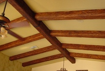 Faux Beams / Create a distinctive, warm, & inviting setting, indoors or out, with our faux wood ceiling beams. They are available in numerous textures from timber to distressed to raised grain looks. Custom sizes plus a huge array of standard sizes mean we can fulfill any need you have.