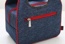 14-) Hobi Kumaş-Çanta ( Hobby fabric- Bags )