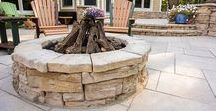 Fire Pit Ideas / What better way to enjoy your outdoor living area than to gather around a beautiful fire pit with friends and family? Browse the board for inspiration, then be sure to check out our website for more info.