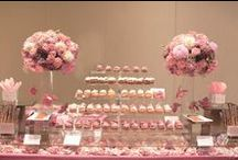 Sweet table / Creative ways of incorporating sweets and all kind of desserts!