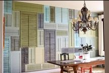 """From the series """"be creative with your shutters"""" / All about using shutters for every single possible purpose..."""