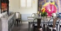 Dining Room Shutters / #Shutters in the #Dining Room