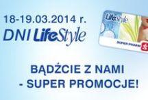 Dni Klubu LifeStyle w Super-Pharm! / Oferta ważna 18-19.03.2014 r. lub do wyczerpania zapasów produktów promocyjnych.