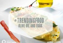 EGGS and Olive Oils / Egg dishes are the go-to easy meal to prepare, as well as a platform used to showcase precious ingredients like truffles and rare mushrooms. Enjoyed throughout the day in Spain, these dishes are not exclusive to breakfast or brunch hours! Try one of these recipes for dinner, even! Pair with a glass of Spanish wine to oomph the authenticity of the experience and, ENJOY!