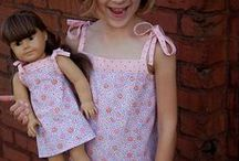 Doll Clothes Patterns / A collection of free doll patterns