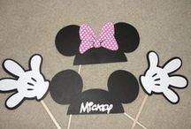 17-) Tema: Mickey& Mini Mouse