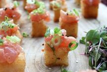 Hors D'Oeuvres / how OnTheMarc loves to begin your dining experience