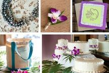 DIY Destination Wedding / A collection of the DIYs details and decorations from our Jamaica Destination Wedding.