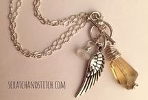 Handmade Jewelry / Handmade is the best-made. A collection of my handmade jewelry projects.