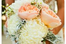 Grow Together Florals / Vintage-country wedding day flowers.