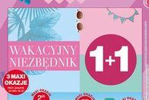 Wakacyjny Niezbędnik - Gazetka ważna w dniach 28.07. - 03.08.