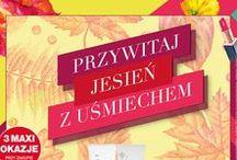 Przywitaj jesień z uśmiechem! Gazetka ważna od 15.09 do 28.09