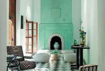 Moroccan Style / Inspired by dreamy landscapes and exotic interiors.
