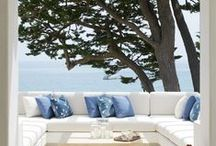 Ocean Inspired Home Decor / Bring the beach to you with lovely ocean inspired decor.