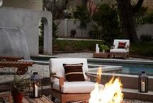 Outdoor Living / Awe inspiring scenes, rustic rendezvous and dreamy decor.  These outdoor scenes are what summers are made for.