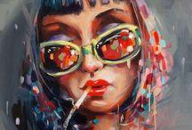 Art / Street, urban, grafitti, contemporary, subversive, modern art! And some pretty things.