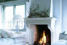 Design ~ Fireplace & Mantels