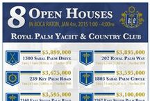 Open Houses / Looking for a home in the most sought-after community in Boca Raton? Here's 4 open houses for your viewing pleasure. Come check them out. http://www.royalpalm.com/sunday-open-houses