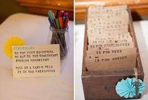 Τραπέζι και βιβλίο ευχών / εναλλακτικές ιδέες για να συλλέξετε και να κρατήσετε τις ευχές των καλεσμένων σας