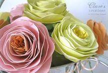 Λουλούδια DIY / Χειροποίητα λουλούδια! Από τη νυφική ανθοδέσμη και τις μπουτονιέρες γαμπρού και κουμπάρου, μέχρι τη διακόσμηση της εκκλησίας και του χώρου δεξίωσης, παντού είναι χρήσιμα!