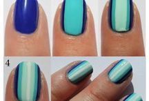 Nail art tutorial (DIY) / DIY and nail tips / by Deanetta Brooks