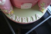 Amelia's 3rd Birthday Cake - Princess Castle / Brief: Castle, pink and girly