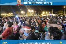 Ruben Dieminger 2015 / Difusión de actividades políticas del Candidato Rubén Dieminger en la ciudad de Oberá, Misiones ( Argentina ) #Passalacqua2015 #Dieminger2015 #SiSePuede #Herrera2015