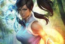Mangas   Avatar & Legend of Korra / Avatar The Last Airbender and The legend of Korra