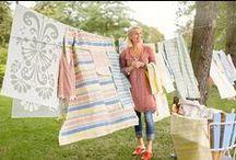 Tina Nordström textile collection / Tina Nordström textile collection - a unique collaboration between Linda Svensson Edevint, the popular TV chef Tina Nordström and Ekelund, Sweden's oldest weaving mill.