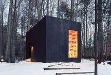 ■ architecture ■ cabins ■