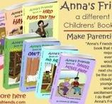 Anna's Friends Children's Books / Anna's Friends is a series of children's books written from the perspective of each of the 7 children in Anna's friendship circle; each has one of the 7 motivational gifts.