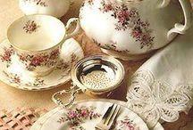 Tea Time - The Whole Tea Time Experience / Tea time can be so delightful... / by Doris de Graeve