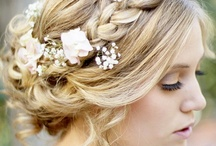 Romantic Wedding Hair Styles / Princess for a day! These intricate bridal hair styles blow us away. Curated by #WizzleyWeddings.