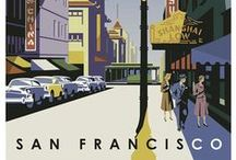 vintage travel posters / by anne meuleman