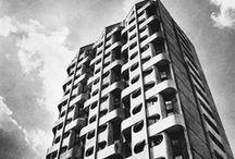 Architecture: old, modern and Hutta