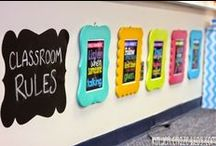 Classroom Decor and Design / Ideas for classroom decor, setup, bulletin boards, and classroom management