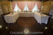 Reception Decor & Details